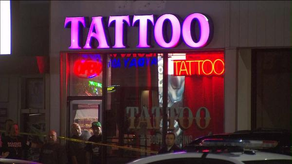 Well known tattoo artist trigz shot to death in front of for My tattoo shop hollywood