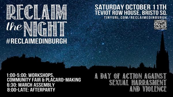 Proud of our members joining forces to #ReclaimEdinburgh tomorrow! Show support at Teviot Row House. ALL welcome. http://t.co/VrNNUo8tb8