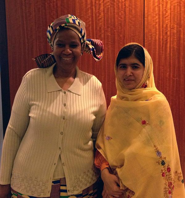 Huge congrats to #MalalaYousafzai on becoming the youngest person to win the #NobelPeacePrize! http://t.co/Gf6GQYfuVq http://t.co/hWkRiCioii