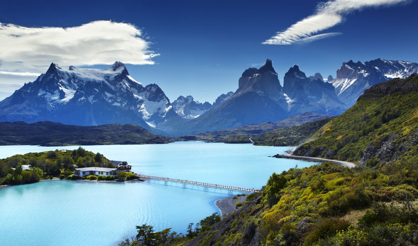 Breathtaking MT @lptraveller: Pic of the day: Lake #Pehoe, Torres del Paine national park, #Chile http://t.co/aiY80uL8kf #lp #travel