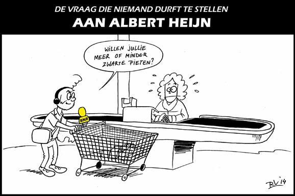 BNR Cartoon | De vraag die niemand durft te stellen aan Albert Heijn http://t.co/D8RBINybmS #zwartepiet #BNR http://t.co/2RnzhYzHMP