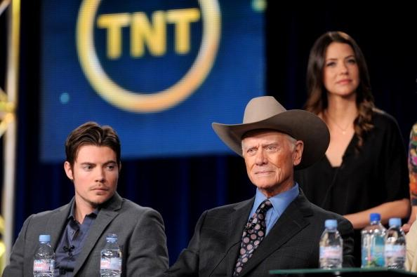 The man RT @FansHagman: Larry, @joshhenderson & @julie_gonzalo #SaveDallas #SaveTheEwingFamily #BringBackDallas http://t.co/x8Axin2vFD