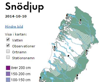 Nu kör vi igång snödjupskartan! #snö #vinter http://t.co/eTvaO87rah http://t.co/N4DX38ogk7