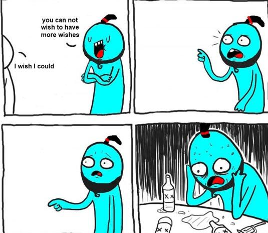 If I were to encounter a genie: http://t.co/RSXYuBXv4T