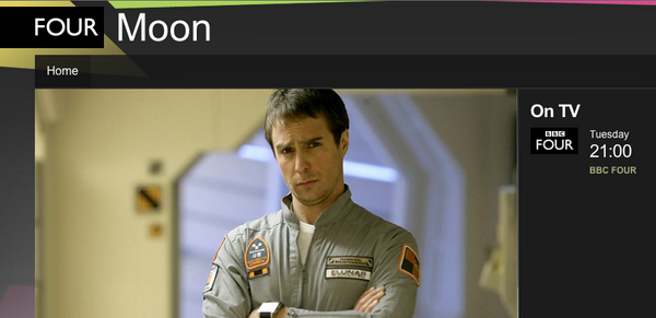 MOON starring Sam Rockwell featuring @iamclintmansell's stunning score BBC4 14th Oct 21:00 http://t.co/ElcC95ZDz4 http://t.co/LQqQSW2BsS