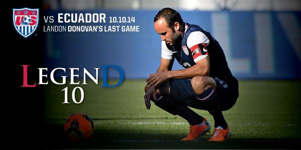 Today we celebrate the #LegenD #ThanksLD #USAvECU http://t.co/3GmI7XTscn