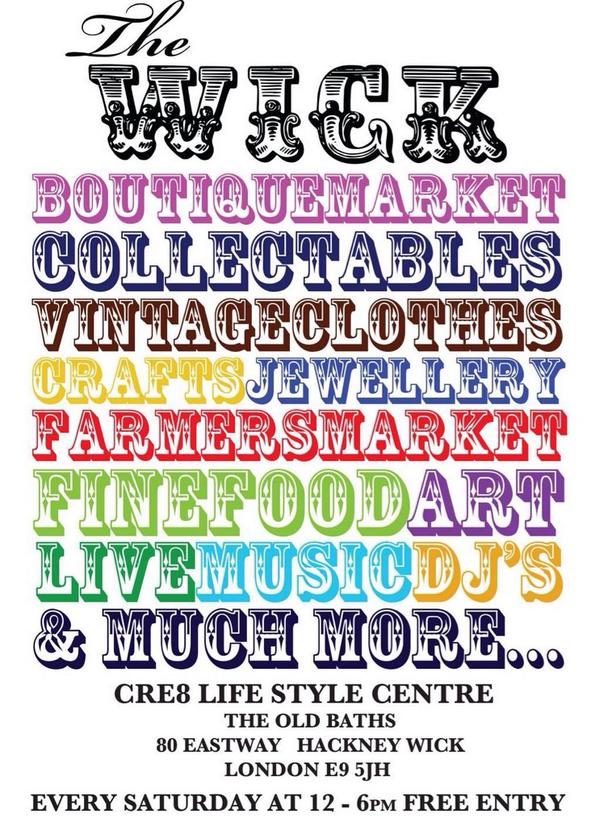 Need a little TLC? Head down to @TheWickFest Saturday for lots of things to make you smile #yoga #rawfood #shopping