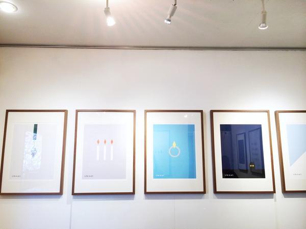 【おしらせ】個展はじまりました。ずっと頭のどこかにあったことがひとつ形にできた。うれしい。われながら素敵な展示になったと思います、よろしかったらぜひ、いらしてください。 @WATERMARK_arts http://t.co/FtW9EVU6g6