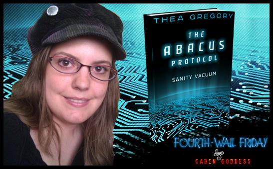 #FourthWallFriday finds author @TheaIsis 'Out of Stasis' & surprises her characters! http://t.co/9qI1GIHvdc #T4US http://t.co/oyl7QVD0Kw