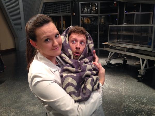 "Hehee:0)""It's a miracle!Little Lance Jr has arrived!I can't tell who he looks like though. @CarlaPGallo""@BONESonFOX  http://t.co/WbkXib32cI"""