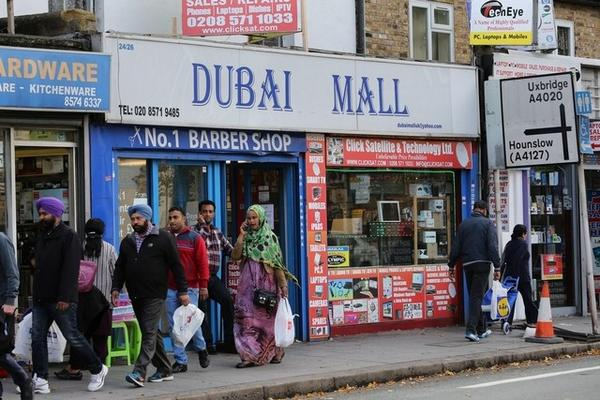 Was fun writing this piece on London's very own 'Dubai Mall'. Lots of characters there: http://t.co/lhiRiSxBzT http://t.co/3gSbWwfTuS