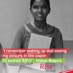 RT @MahindraRise: With grandmother's love she accomplished wonders. This #InternationalDayOfTheGirlChild, help someone #RiseForGood http://…