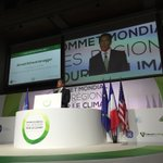 We had such a fantastic World Summit of Regions for Climate here in Paris with @Regions20. Thank you to everyone. http://t.co/Dcm8kgc0Tl