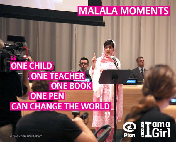 In the light of the #nobelprize2014 win, #Malala is a true #GIRLHERO @GirlUp #bcimagirl http://t.co/wiQQVbsa7h
