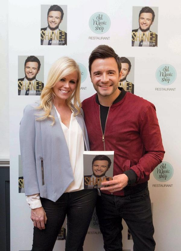 #MySideofLife launch at The Old Music Shop Restaurant. @ShaneFilan & @Gillian_Filan http://t.co/pOYvwD96ow