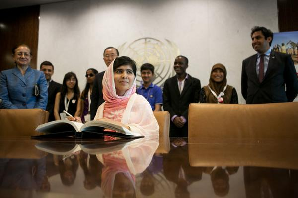 Malala Yousafzai, Youngest Nobel Peace Prize Winner, Adds to Her Achievements and Expectations http://t.co/oulWx8gLvQ http://t.co/yialUa20iU