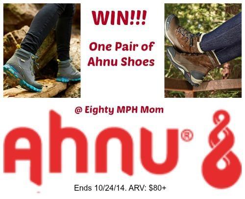 Win! Ahnu Footwear - Pair of shoes (winners choice) $80+ ARV! 10/24 #spon http://t.co/80RL7OD3bG #win #shoes #fashion http://t.co/kkg18vQHpN