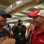 One of the best drivers out there @KevinHarvick Go get em today in Charlotte! http://t.co/p1UzhBjJxO