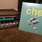 RT @sevodreams: @Jon_Favreau firing up some new wax this weekend on the Marantz... I like it like that! #ChefMovie