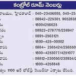 RT @adgpi: State Helpline Numbers of Andhra Pradesh. #Hudhud http://t.co/leSt0CilHA