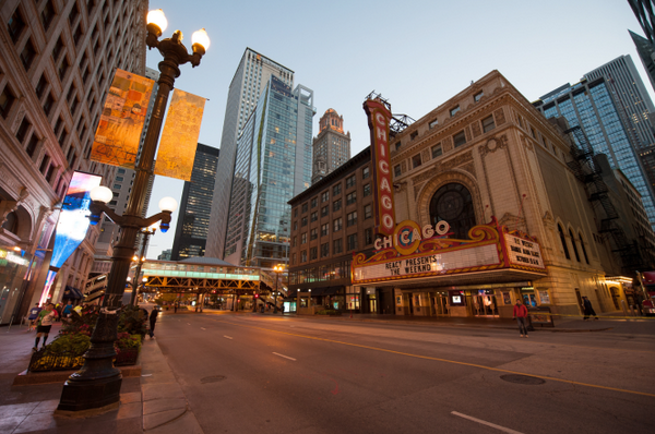 Good morning, runners! These roads are waiting for you. #ChiMarathon http://t.co/r3VU6aLE75
