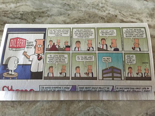 Sound familiar?  #HRTechConf  - Sunday am funnies! http://t.co/qjXBWOIuBM
