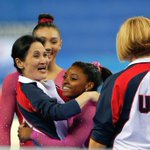 RT @NBCSports: WATCH NOW on @nbc: Simone Biles and Team USA at World Gymnastics Championships. http://t.co/5EWmmoZgHT