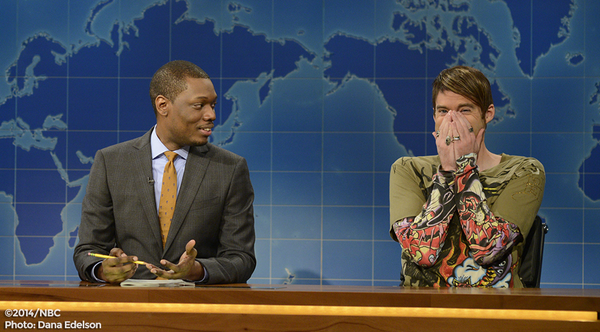 Genius! RT @nbcsnl: How @dancortese ended up at all of NYCs hottest clubs. http://t.co/JdgfvBWIxW #Stefon #SNL http://t.co/yGwAYtjCW1
