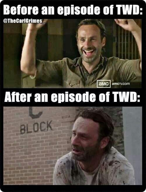 Next Sunday- Same zombie-time, same zombie- channel? #TheWalkingDead #TheWalkingDeadTONIGHT http://t.co/3ty7TMPMIp