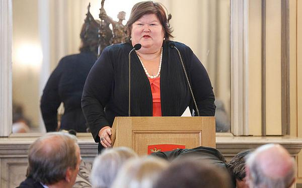 Satire is Dead: Belgium's new Minister of Health #truestory http://t.co/xKhQWGesyn