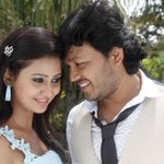 Cute @Amulya_moulya Golden Star #Ganesh from their next Kannada movie #Khushi Khushiyagi @ShilpaaGanesh http://t.co/xaDyaVPtwr