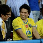 RT @saravana_puyal: @SrBachchan @sachin_rt @harbhajan_singh too much fun,happines,records @ one pic legends at their best #bhajji #sachin h…