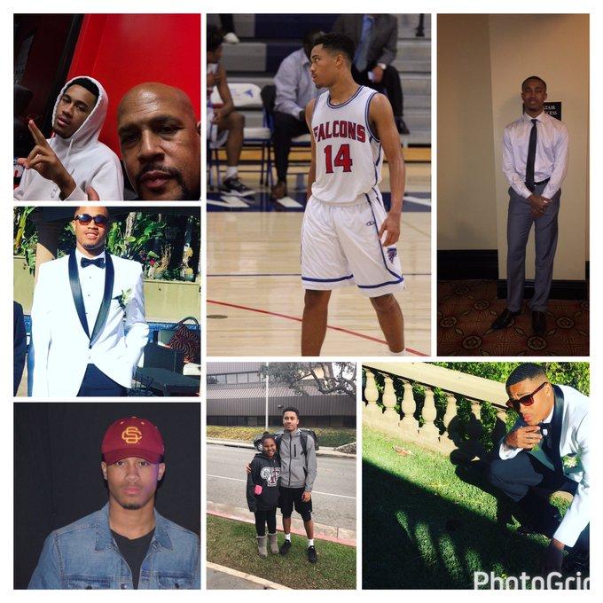 Happy Birthday to my 19 year old son Marc Desmond Howard Jr.