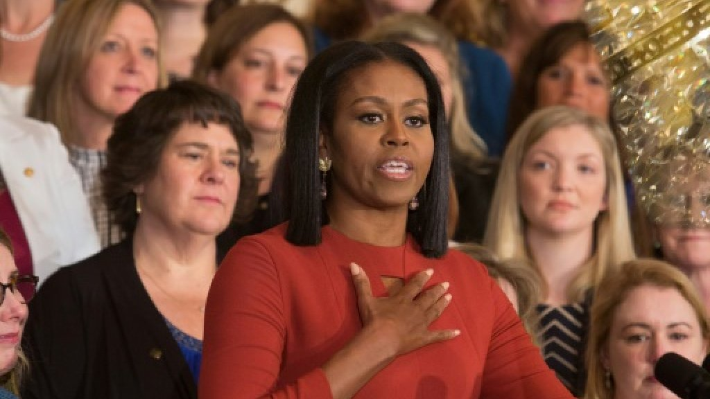 Trump downshifts Michelle Obama's healthy school food scheme