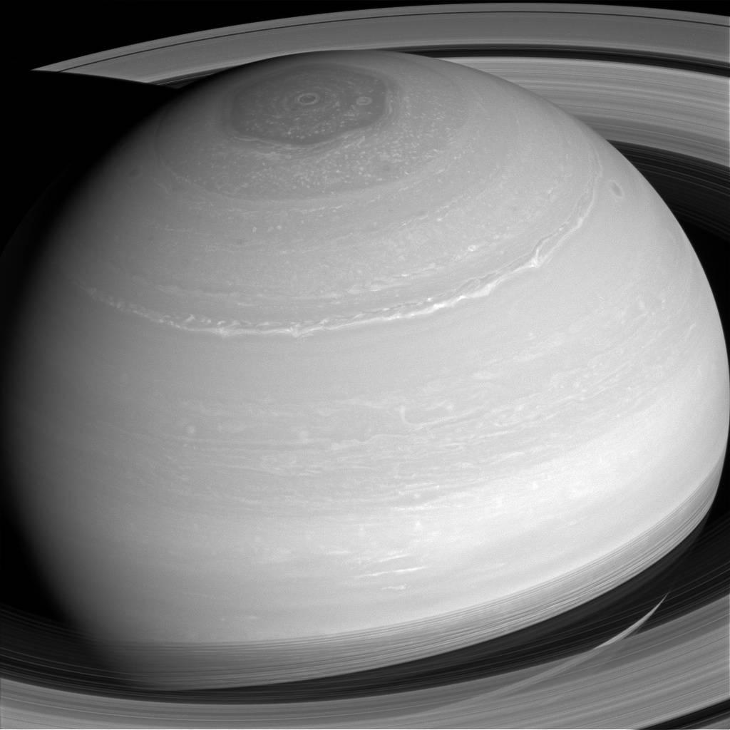 "NASA's Cassini has discovered a big, ""empty"" void between Saturn's rings"
