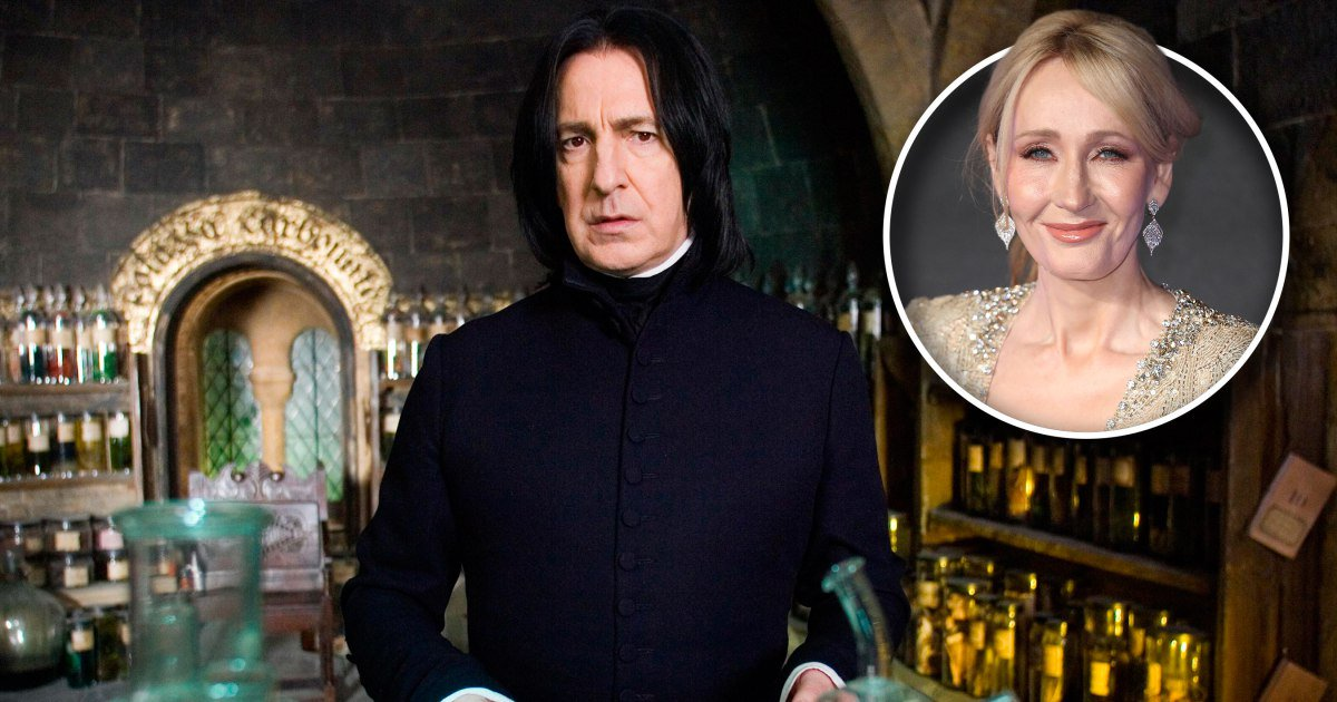 J.K. Rowling apologizes for killing Snape: