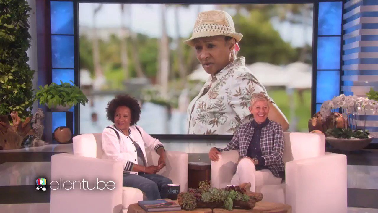 .@iamWandaSykes had a lot to say about her new film. I had a lot to say about her new hat. https://t.co/7OQSTvac7m