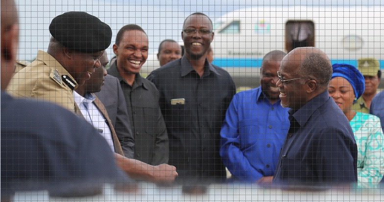 President Magufuli has returned to Dar es Salaam today from Kilimanjaro where he had officiated the Workers' Day Celebrations