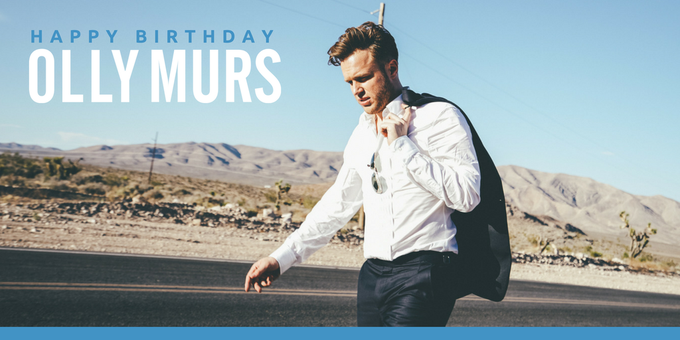 Wishing a Happy Birthday to Olly Murs! We can\t wait for you to take the stage this summer!