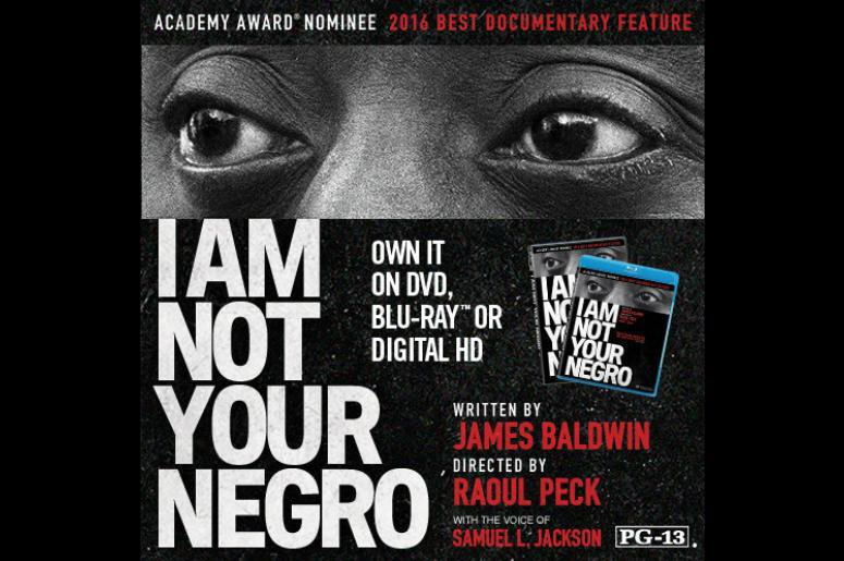 It's here! Listen to James Baldwin. You can get #IAmNotYourNegro now on @iTunesMovies: https://t.co/8QDybvFSww https://t.co/t7SbwWuSz8