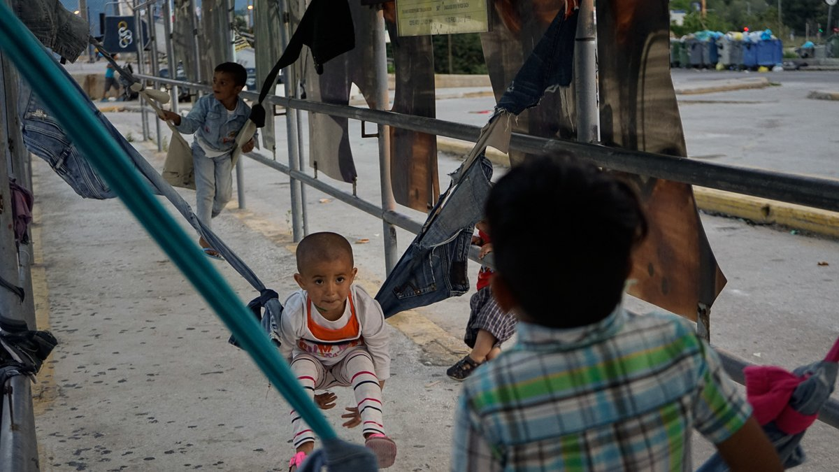 Life in Greece's Elliniko refugee camp
