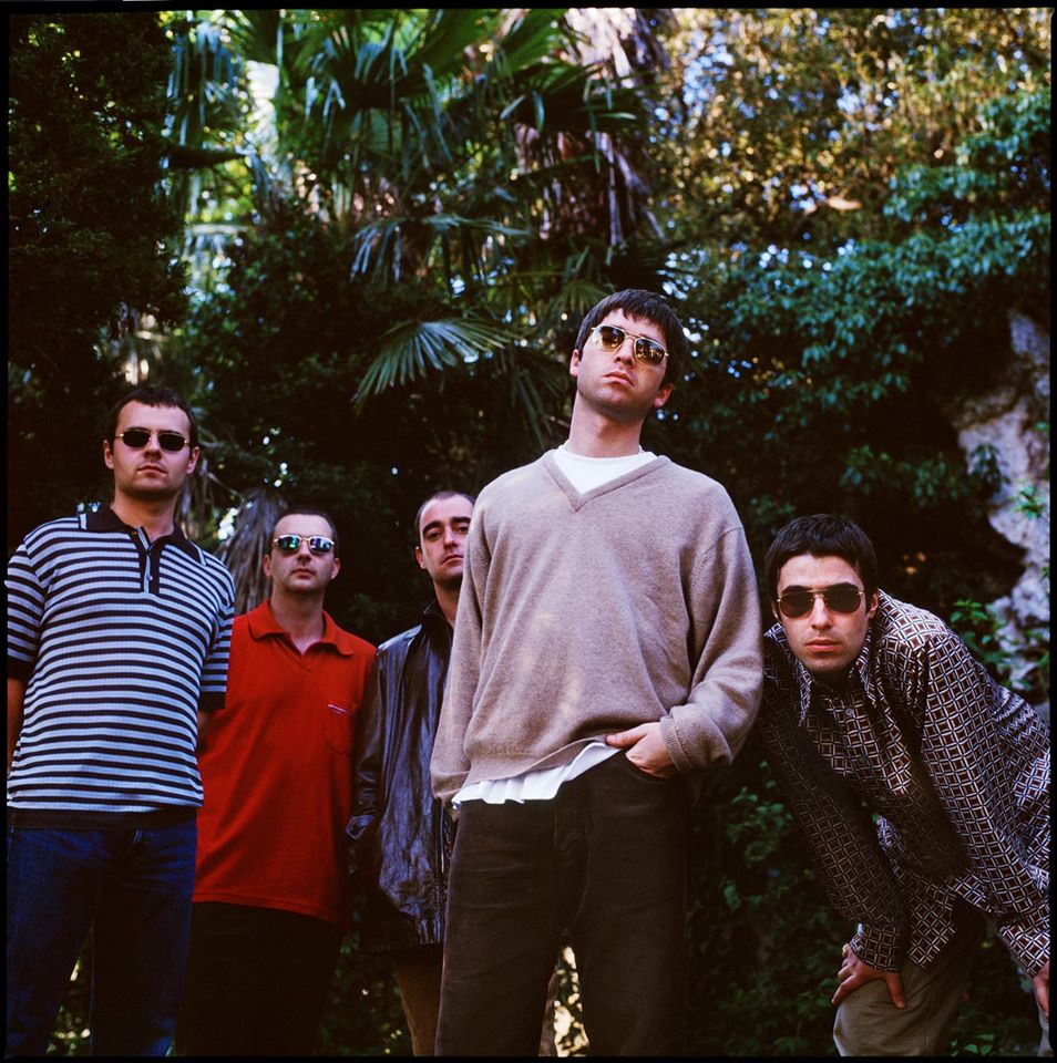 Oasis, shot by Jill Furmanovsky,