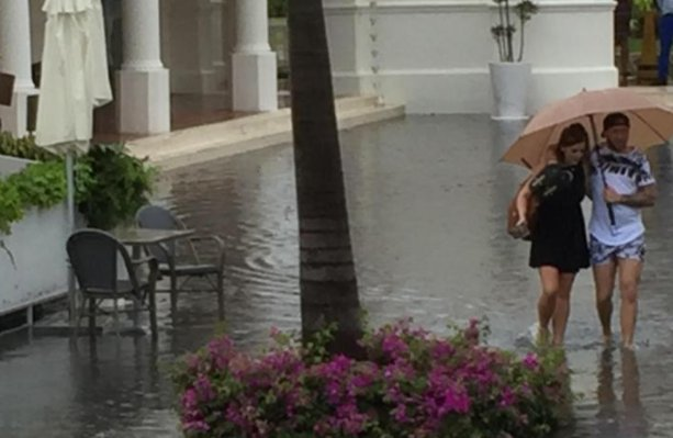 Brit tourists trapped in holiday hell after flooding hits luxury 5-star resort
