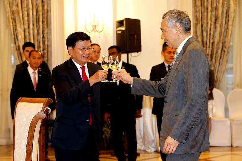 Singapore hopes to be part of Laos' growth story, says PM Lee