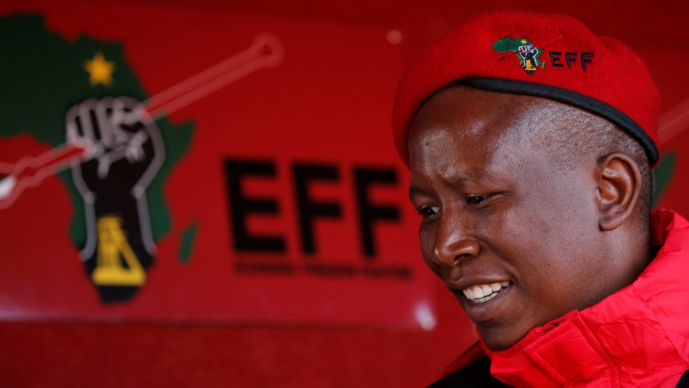 Could Julius Malema be the next president of South Africa?