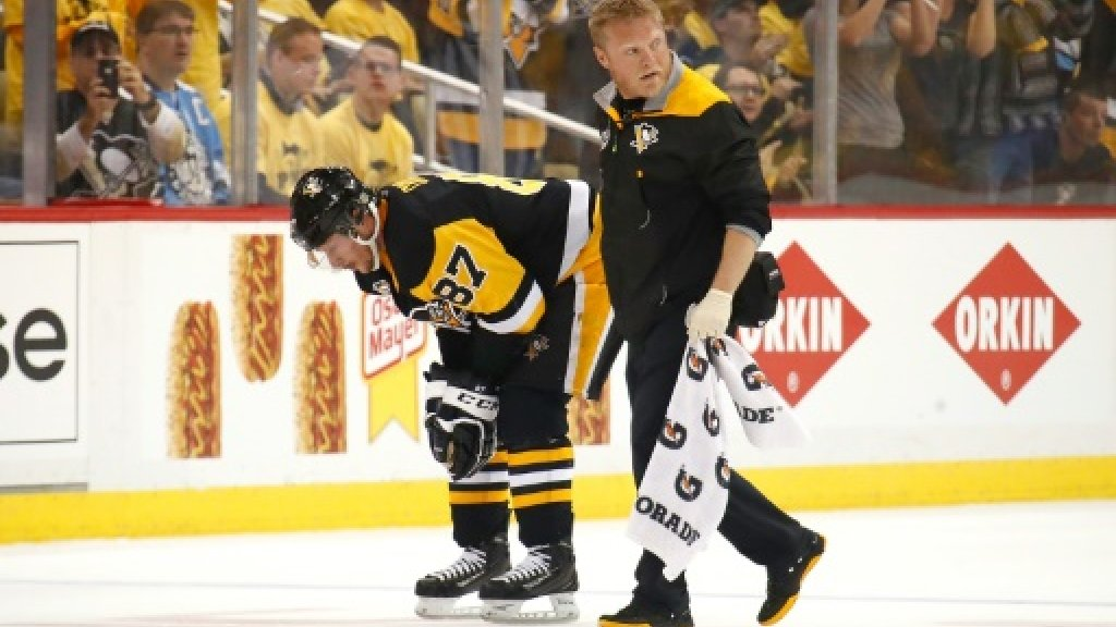Crosby out of NHL playoff after latest concussion: coach
