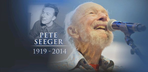 American folk singer and social activist, Pete Seeger was born on this day in 1919. I still miss him... https://t.co/y9bgMmwcRk