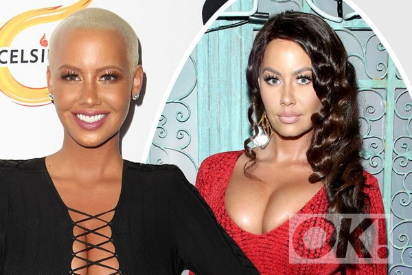 Wow! Amber Rose looks completely UNRECOGNISABLE in new pictures