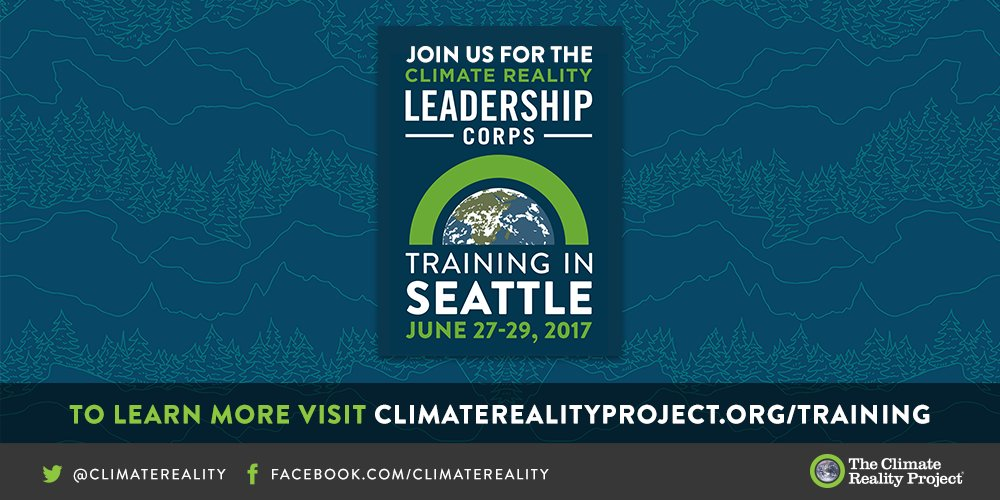 But we can't lose this momentum! Join me in Seattle this June. https://t.co/pUeWTAxgkz #LeadOnClimate (2/2) https://t.co/K326C8Svbe