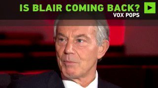 People react to Blair's potential return to politics